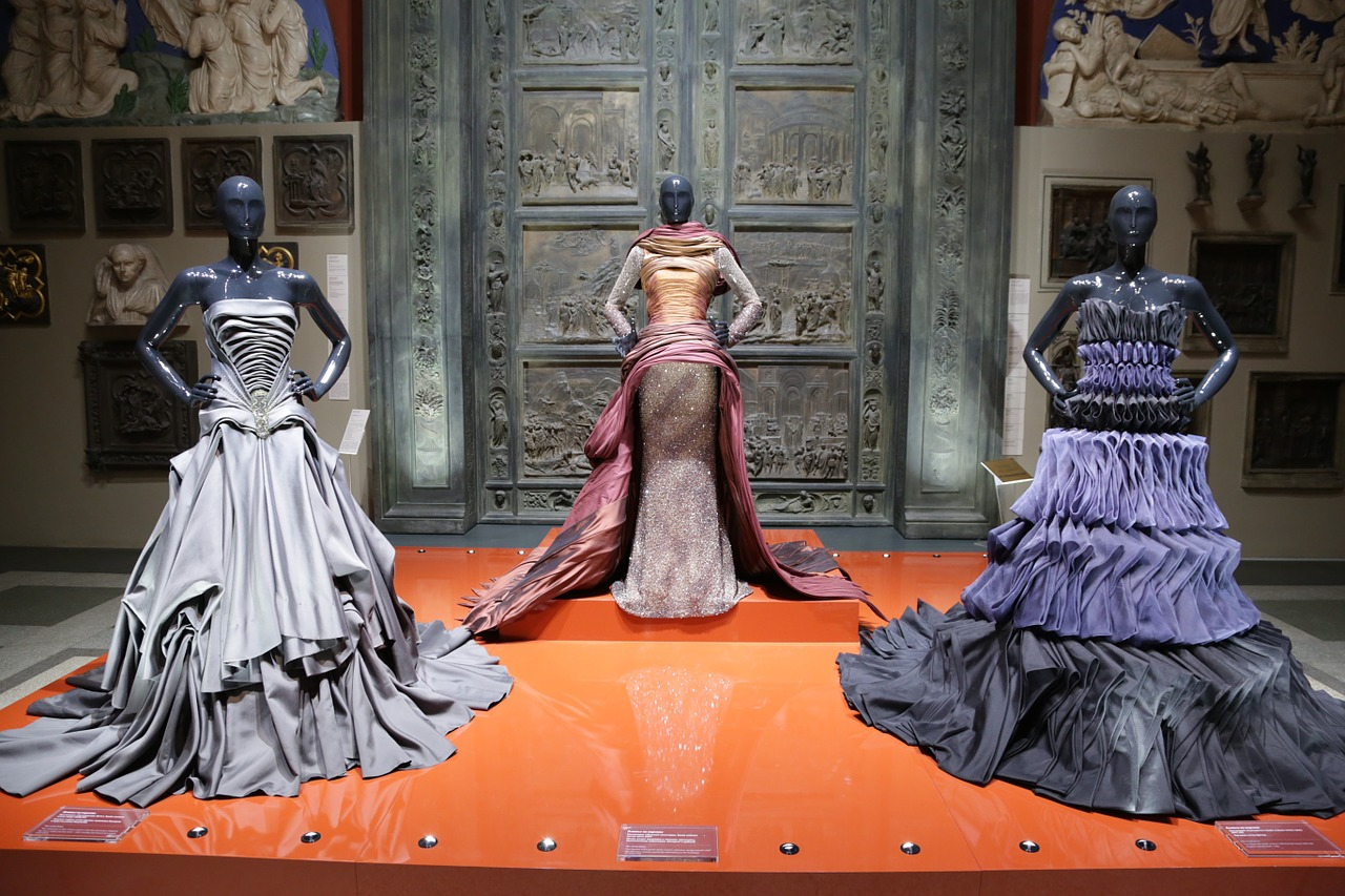 Collection robes de soiree haute couture