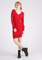 robe soiree kaporal rouge