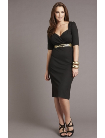 Robe classe femme ronde